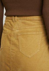 edc by Esprit - SKIRT - A-line skirt - amber yellow - 3