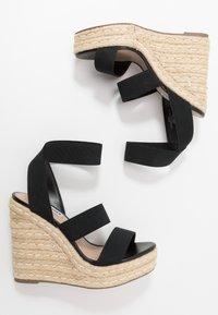 Steve Madden - SHIMMY - High heeled sandals - black - 3
