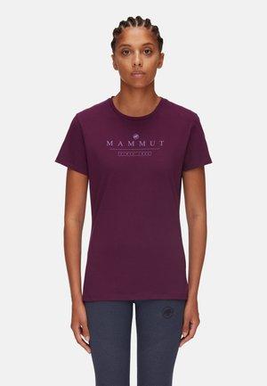SEILE - T-shirt con stampa - grape prt4