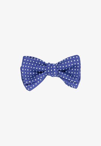 QUATTROMILE - Bow tie - blau    weiß