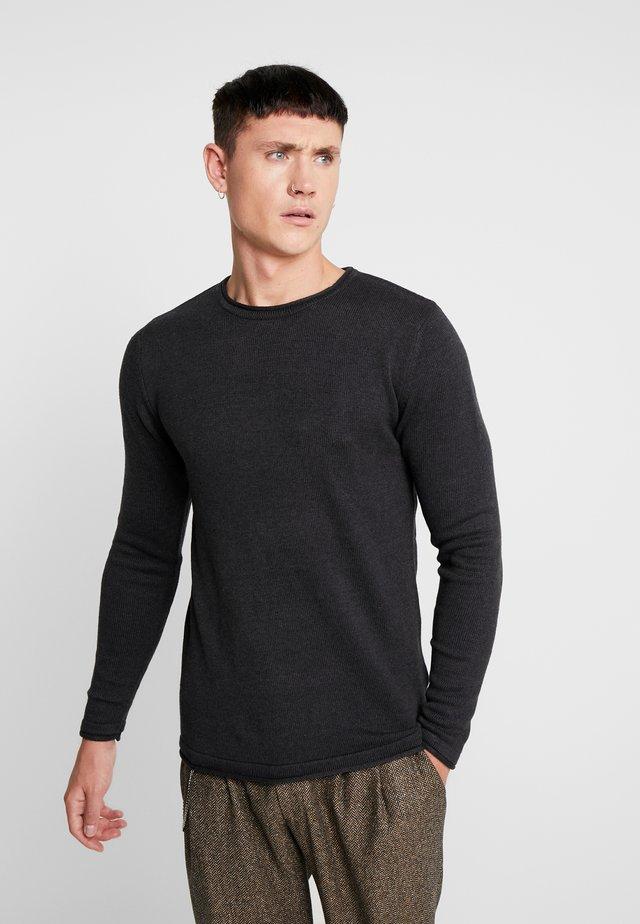 CARL  - Pullover - anthra melange