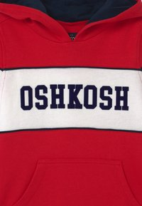 OshKosh - POP OVER HOODIE - Felpa - red - 2