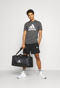 adidas Performance - Korte sportsbukser - black/white - 1