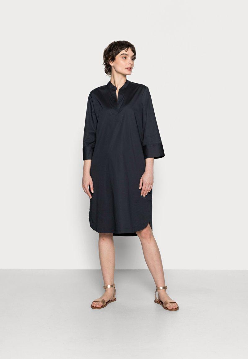 Opus - WANDRO - Day dress - mystic blue
