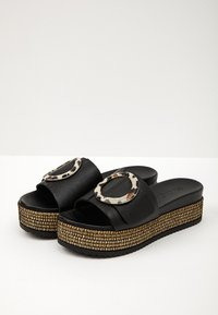 Inuovo - Heeled mules - black blk - 3
