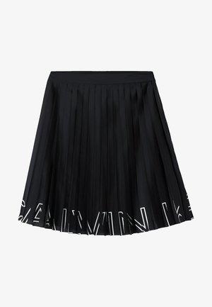 Spódnica trapezowa - ck black
