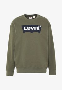 Levi's® - RELAXED GRAPHIC CREWNECK - Sweatshirt - olive night - 3