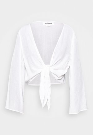 SANSI BLOUSE - Blusa - white light