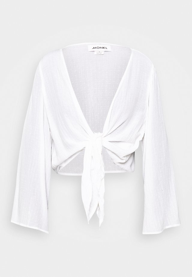 SANSI BLOUSE - Bluzka - white light