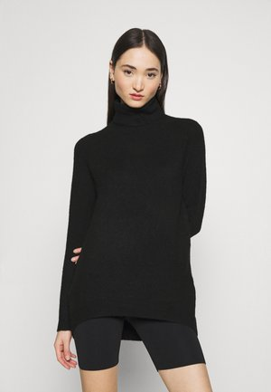 VMPLAZA ROLLNECK LONG - Jumper - black