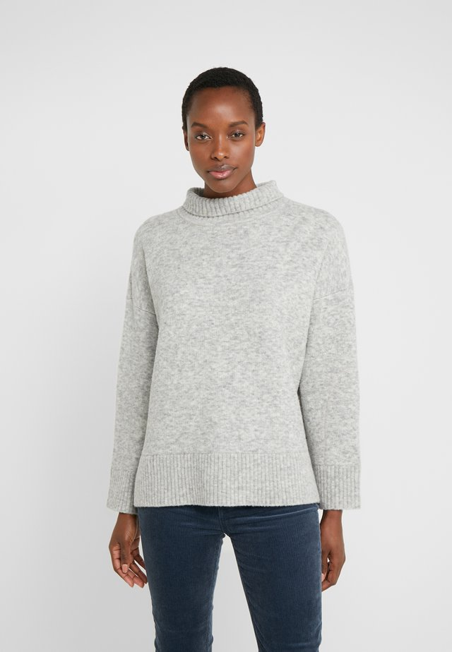 NOMIN SWEATER - Stickad tröja - light grey