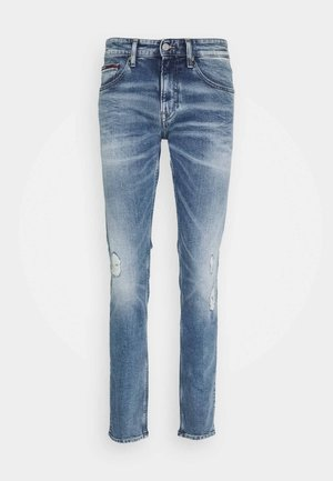 SCANTON - Jeans slim fit - light-blue denim