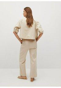 Mango - Button-down blouse - mittelbraun - 2