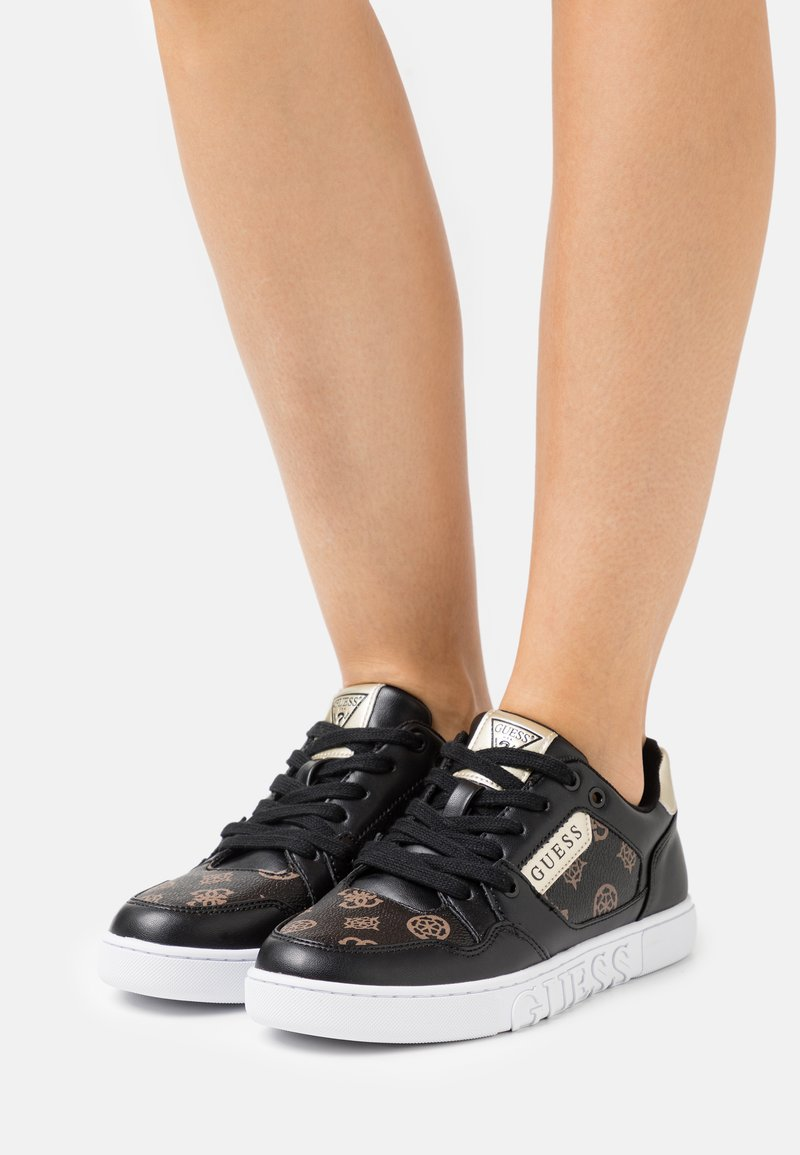 Guess - JULIEN - Sneakers laag - bronze/black