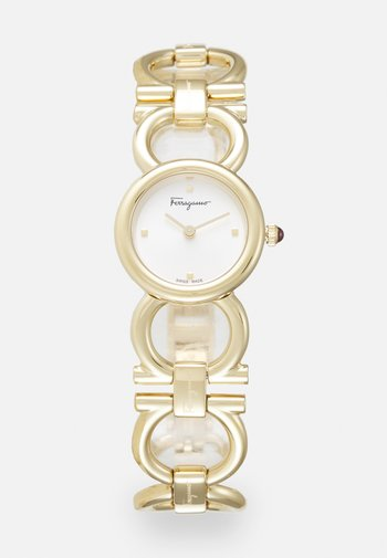 DOUBLE GANCINI ROUND - Watch - gold-coloured