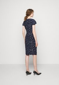 Lauren Ralph Lauren - PRINTED MATTE DRESS - Shift dress - lighthouse navy - 2