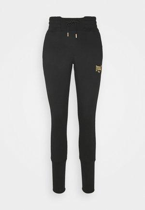 IRVINE - Teplákové kalhoty - black