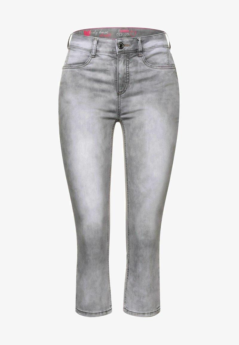 Street One - Denim shorts - grau