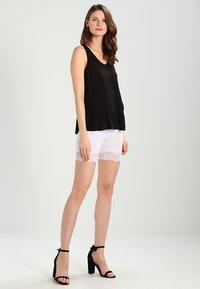 Cream - MATILDA BIKER - Shorts - optical white - 1