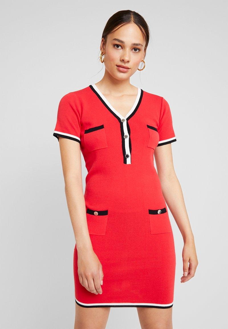 Morgan - Shift dress - rouge