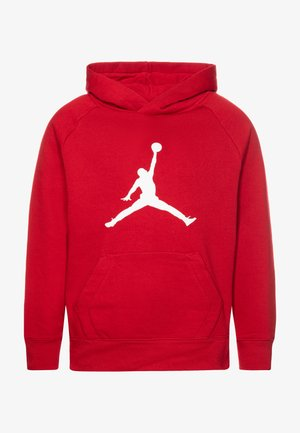 JUMPMAN LOGO - Jersey con capucha - gym red