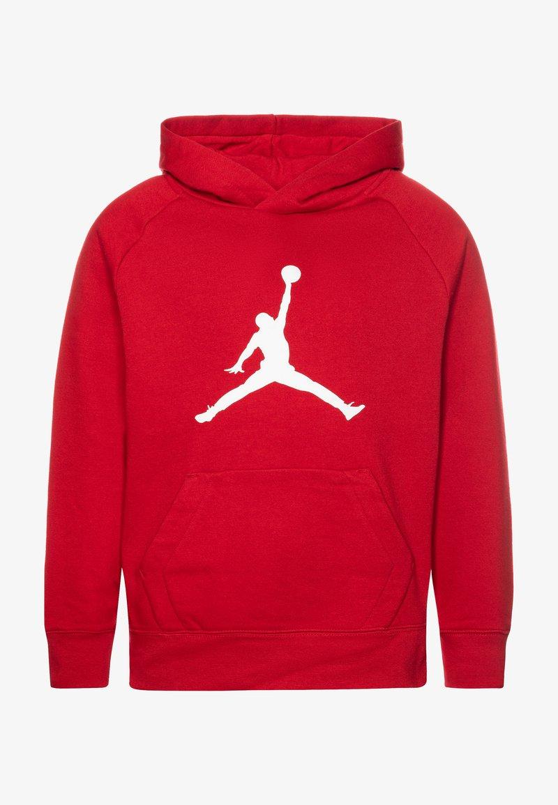Jordan - JUMPMAN LOGO - Bluza z kapturem - gym red