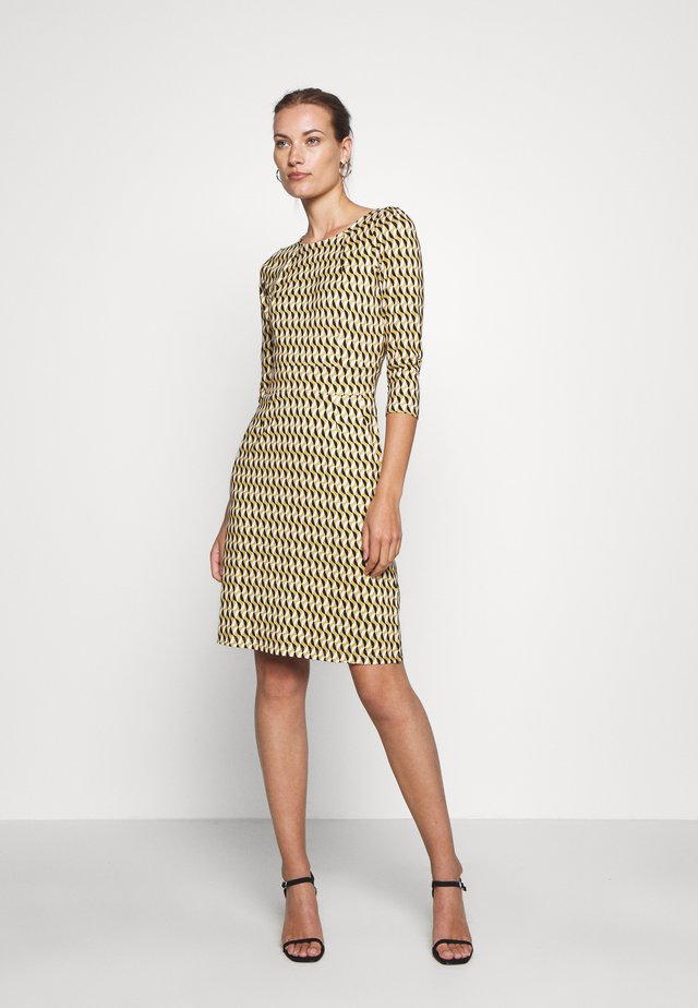 MONA DRESS - Jerseyjurk - gold/yellow