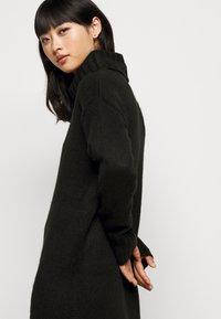New Look Petite - ROLL NECK DRESS - Jumper dress - black - 4