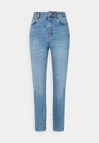 Noisy May Tall - NMISABEL MOM - Jeans straight leg - light blue denim - 0