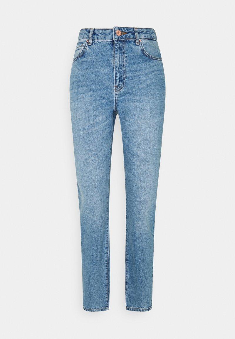 Noisy May Tall - NMISABEL MOM - Jeans straight leg - light blue denim