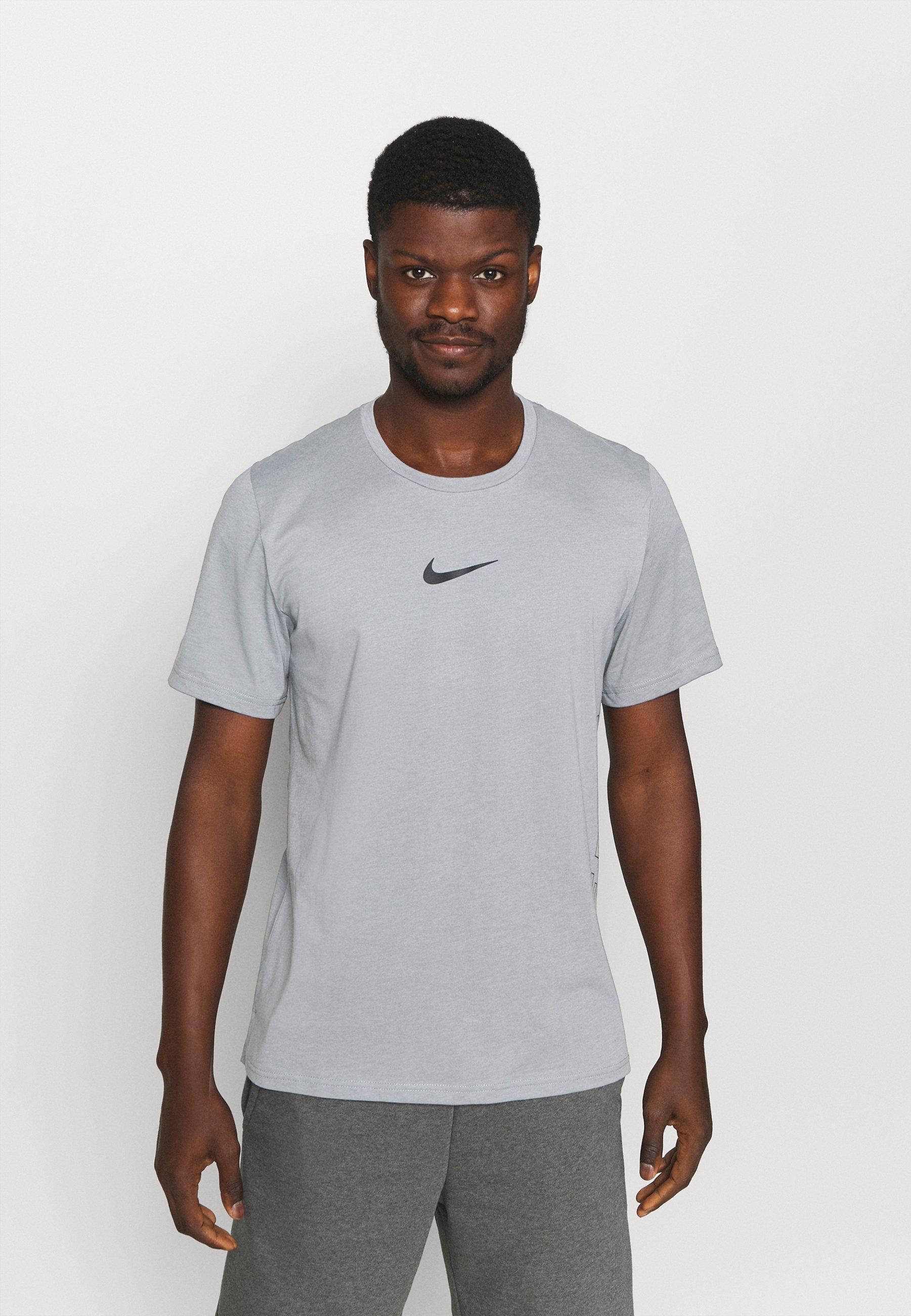 Homme BURNOUT - T-shirt imprimé