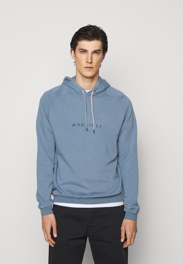 Sweatshirt - blue denim