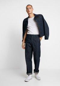 Nudie Jeans - LAZY LEO - Straight leg jeans - dry classic slub - 1