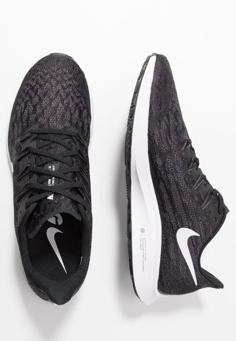 Comprimir Gobernable Drástico  Nike Performance AIR ZOOM PEGASUS - Stabilty running shoes -  black/white/thunder grey/black - Zalando.co.uk