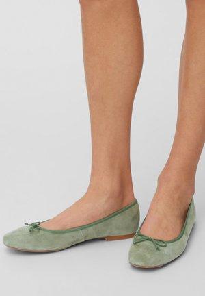 Ballet pumps - oliv