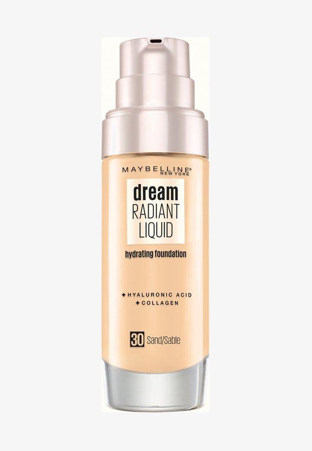 DREAM RADIANT LIQUID MAKE-UP - Foundation - 30 sand