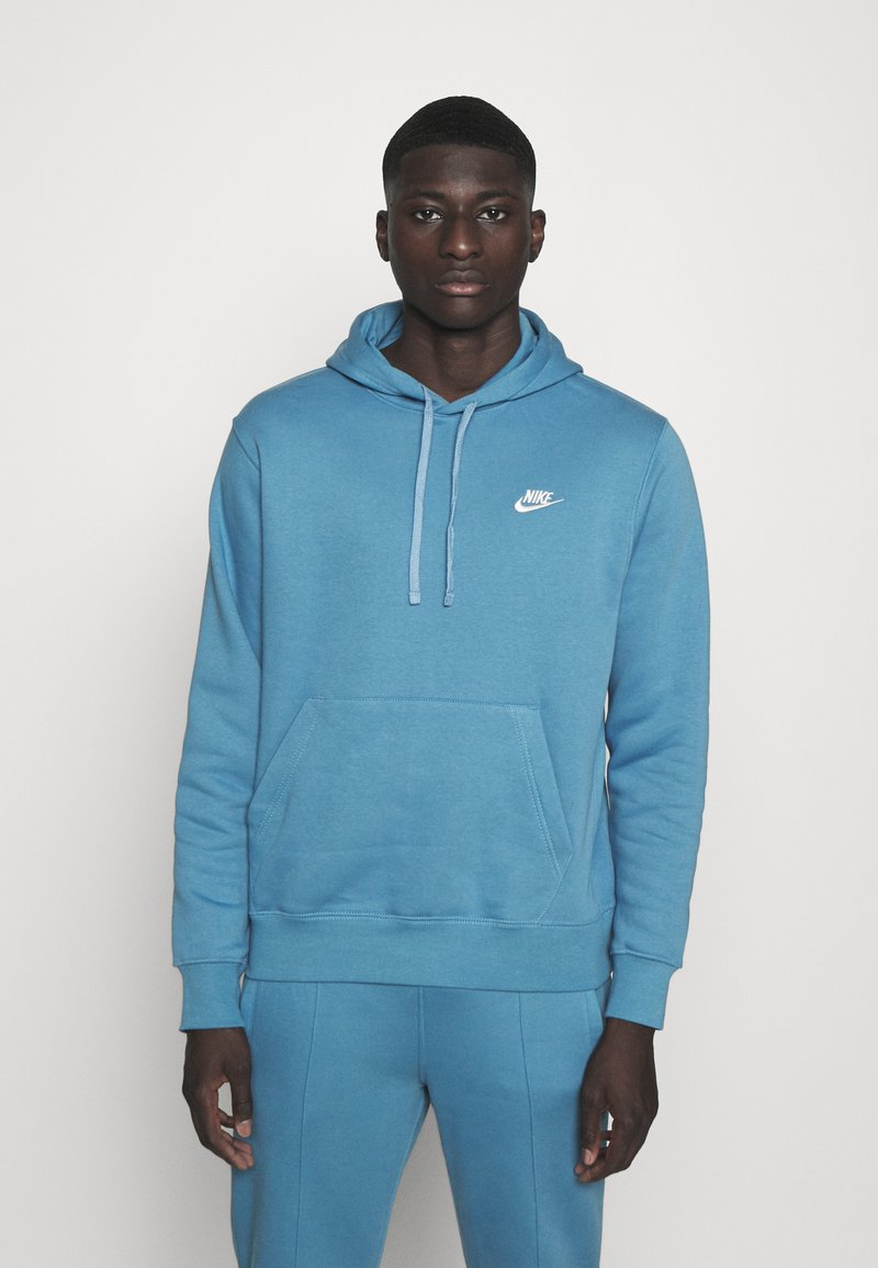 Nike Sportswear - CLUB HOODIE - Sweatshirt - dutch blue