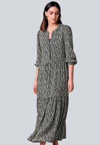 Alba Moda - Maxi dress - schwarz off white beige - 0
