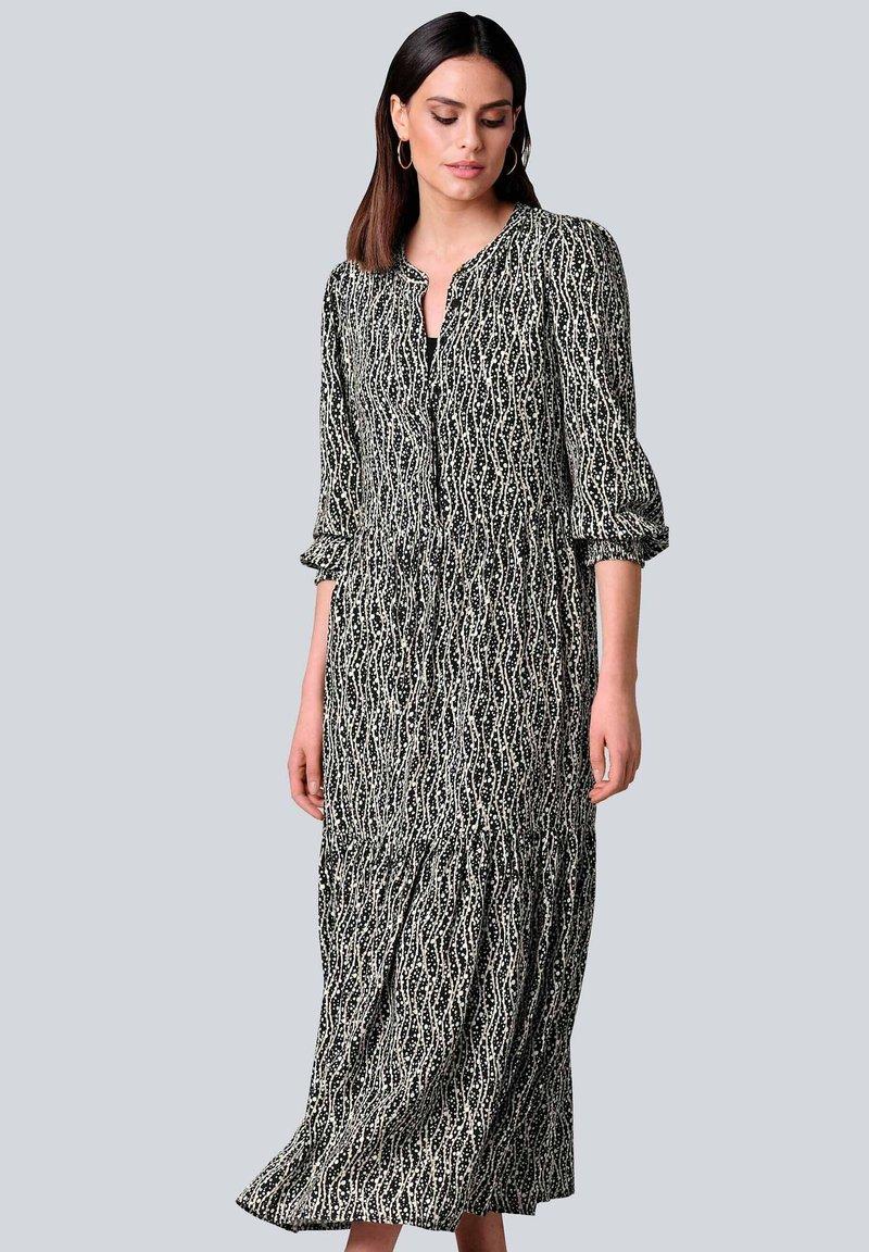 Alba Moda - Maxi dress - schwarz off white beige