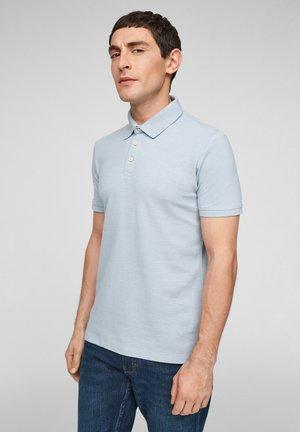 Poloshirt - light blue melange