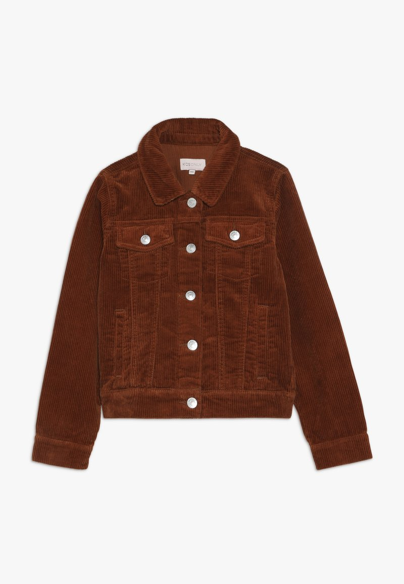 Kids ONLY - KONSHILA JACKET - Lehká bunda - ginger bread