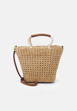 SHOPPER BAG LEIA L - Shoppingveske - beige