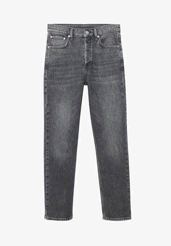 Džíny Straight Fit - denim grey
