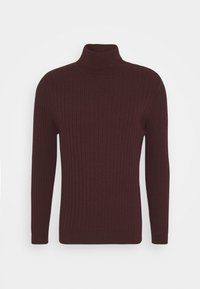 Zign - Jumper - mottled bordeaux - 5