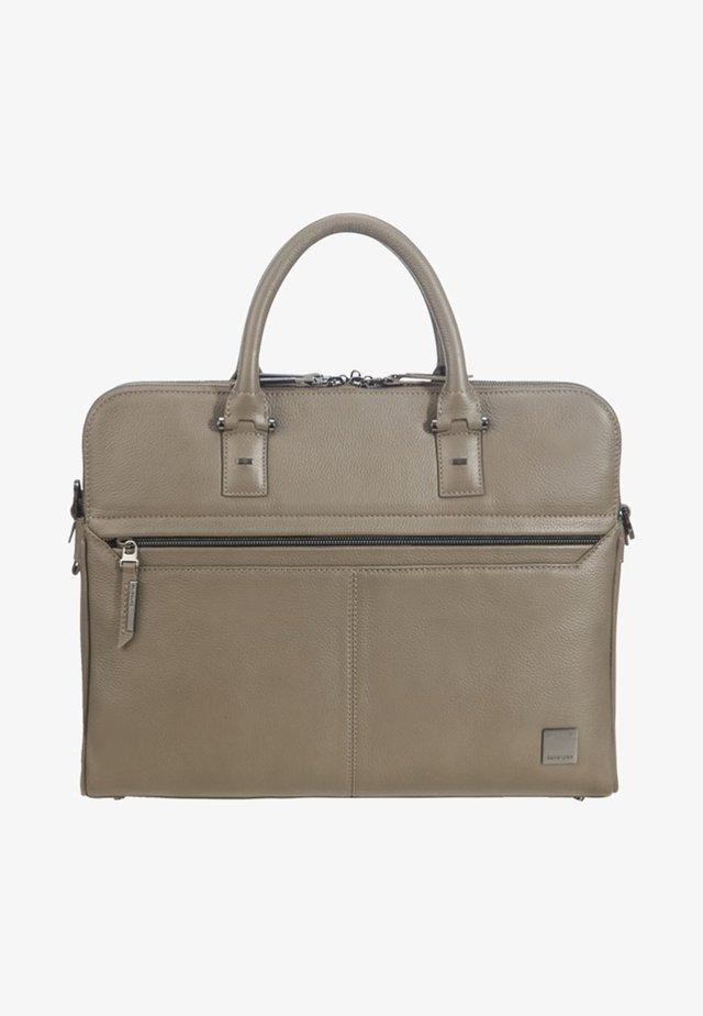 SENZIL AKTENTASCHE - Briefcase - taupe