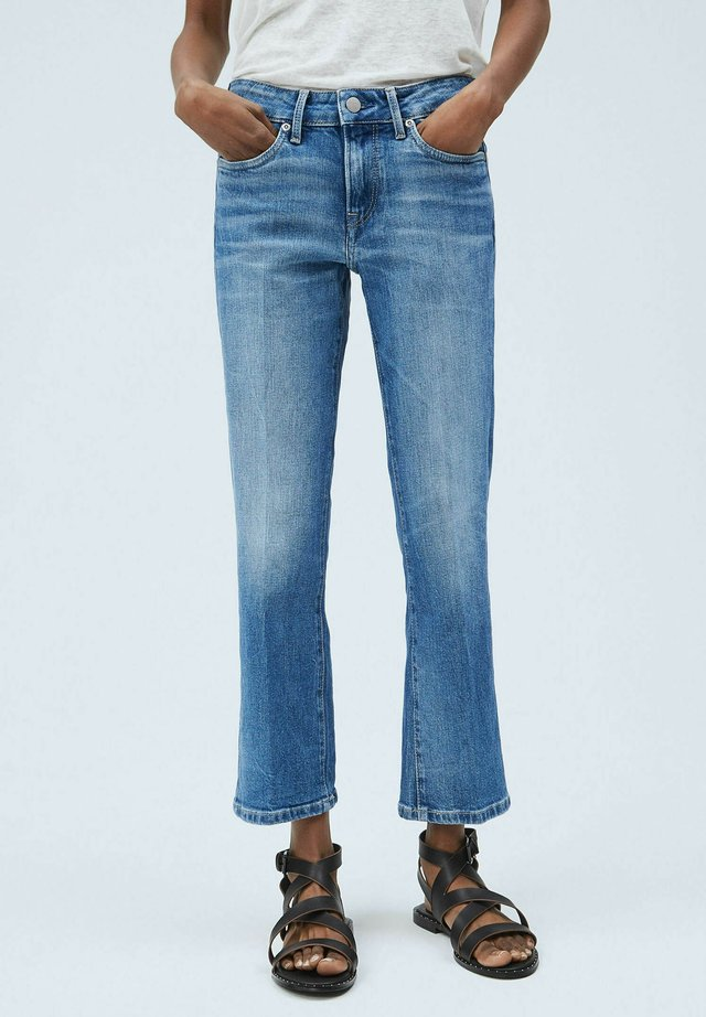 PICCADILLY - Jeansy Bootcut - denim