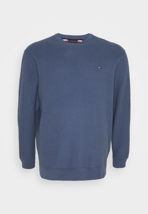 HONEYCOMB CREW NECK - Maglione - blue