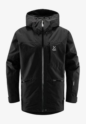 LUMI INSULATED JACKET - Ski jacket - true black