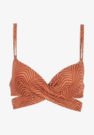 WATTIERTES ORNELLA - Bikini top - multifarben - 190c - geometric shine