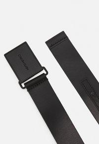 Calvin Klein - PLAQUE TONAL - Pásek - black - 1